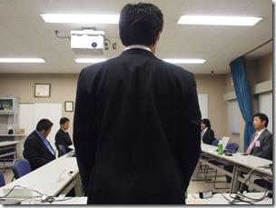 事務局長から見た会長のあいさつ